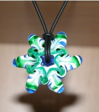 Lampworked Star Bead
