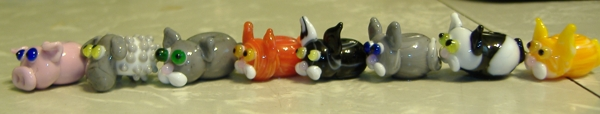 Maggs Creations Critter Beads- Side view